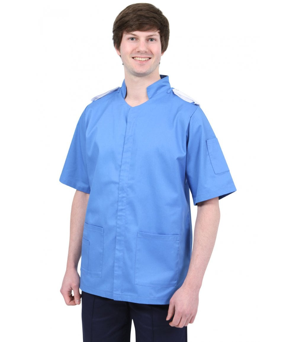 7cf3168b0c8 Men's Classic Healthcare Tunic with Epaulette Loops - NMT - PCL ...