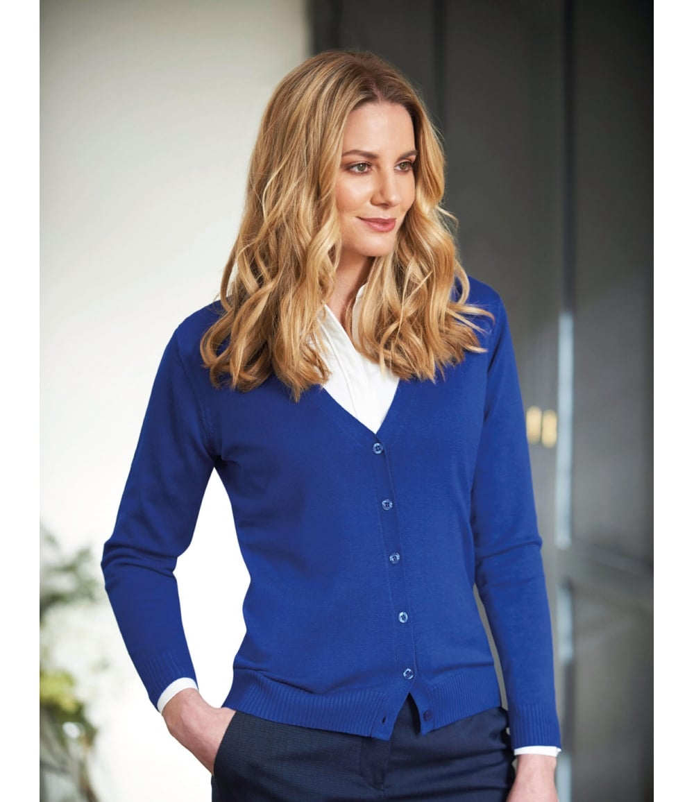 e775586341 Augusta V-neck Cardigan - 2309 - PCL Corporatewear Ltd