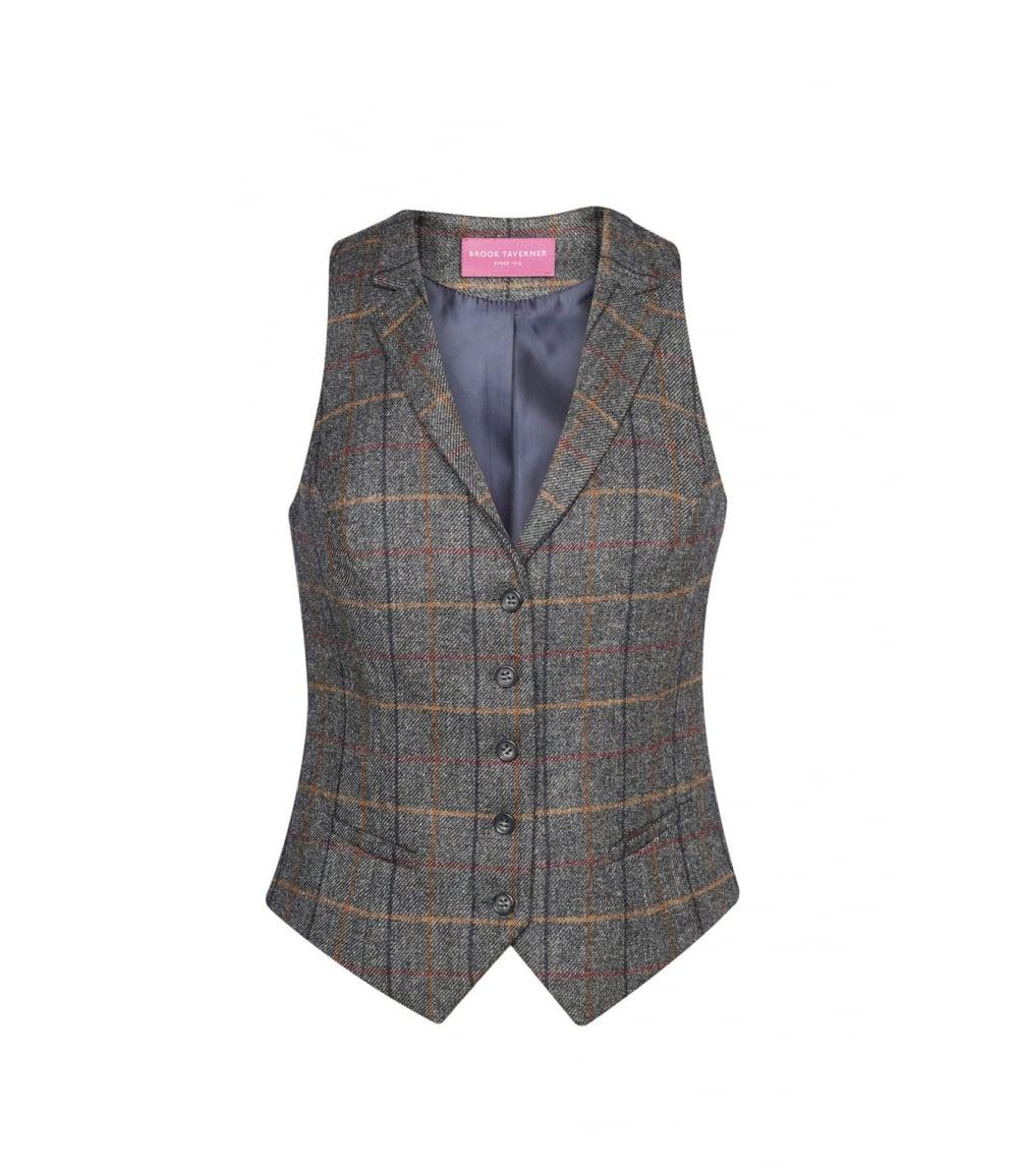 Nashville Tweed Ladies Waistcoat