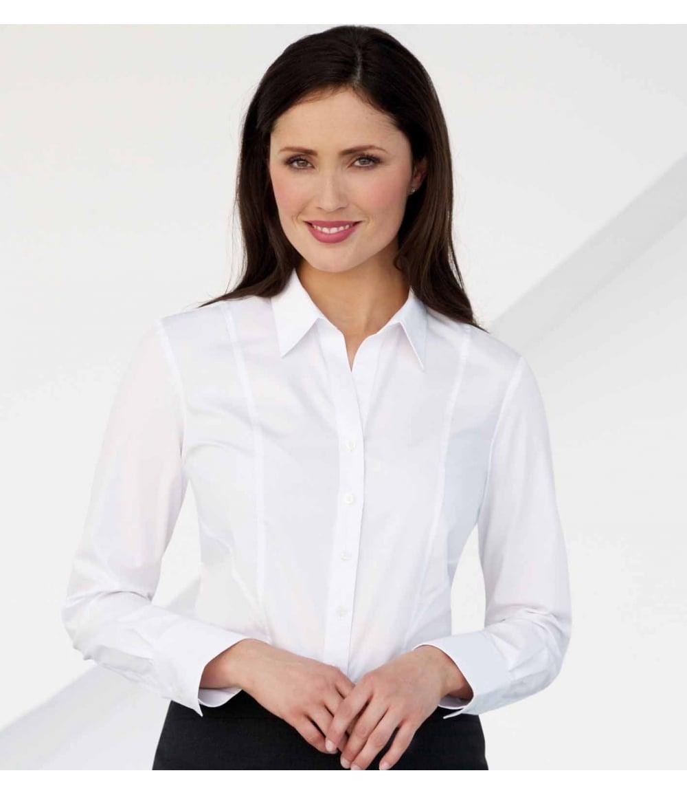 63d6e33829f769 Palena L S Blouse Cotton Rich Easy-to-Iron - 2214 - PCL ...