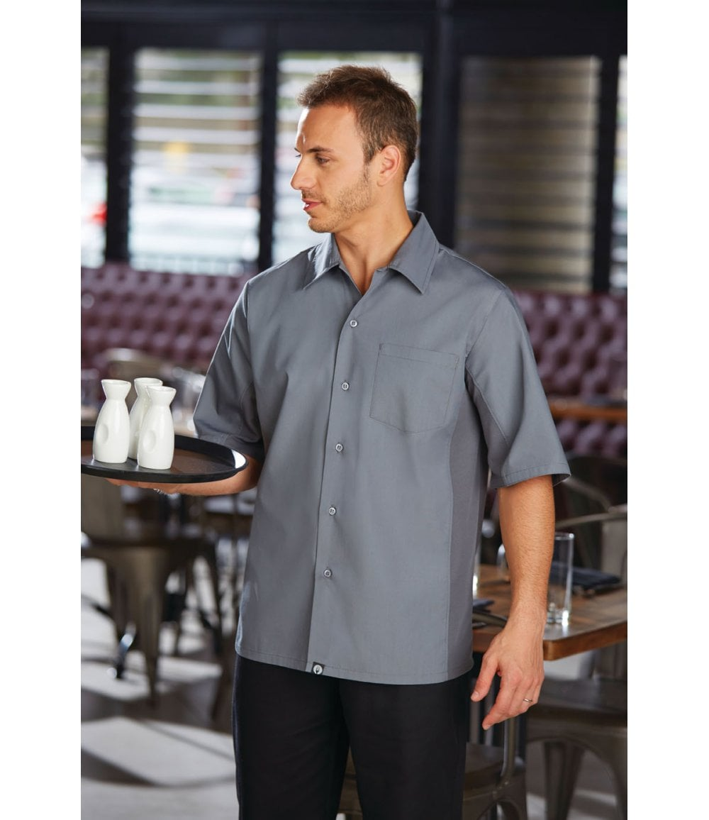 Black All Sizes CSCV-BLK Chef Works Cool Vent Cook Shirt