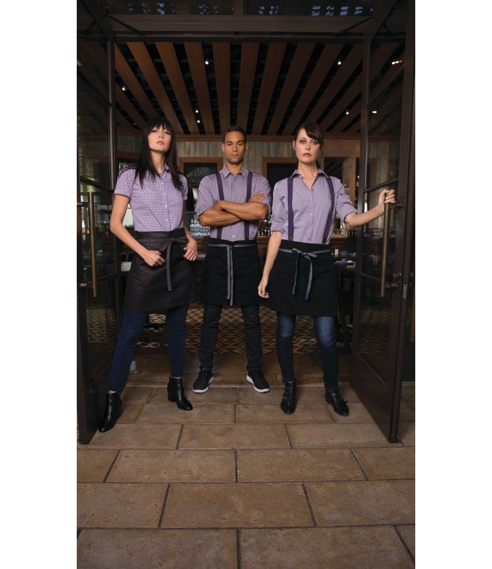 Chef Works Mens Modern Chambray Dress Shirt