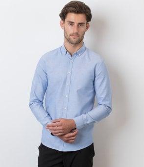 d28afe8cd34 Kustom Kit Premium Long Sleeve Slim Fit Oxford Shirt - K113 - PCL ...