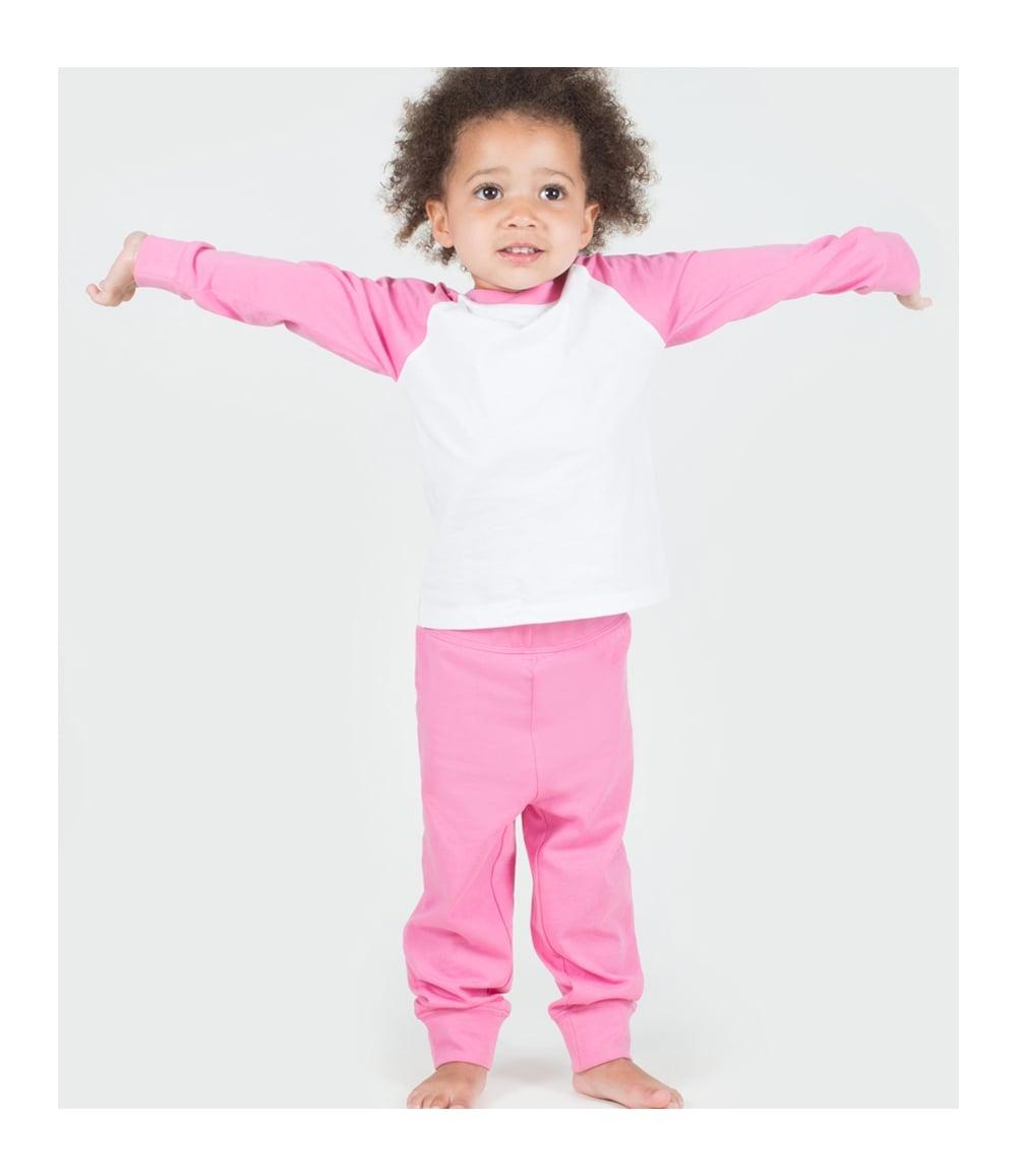 9128653310 Larkwood Baby Toddler Pyjamas - LW71T - PCL Corporatewear Ltd