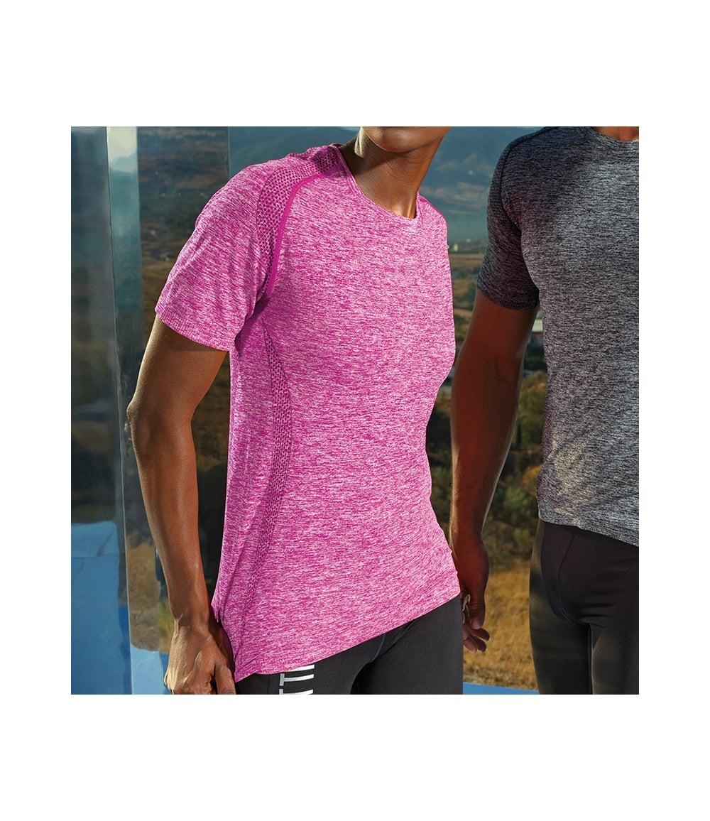 0092c943b Women's seamless '3D fit' multi-sport performance short sleeve top ...