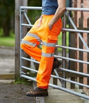 Yoko Hi-Vis Waterproof Overtrousers Workwear Industrial Safety Waterproof YK210